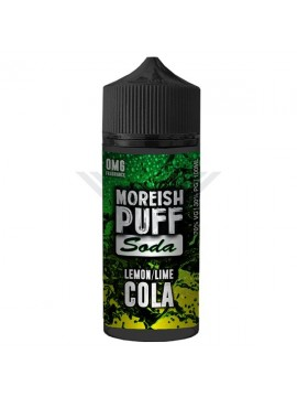LEMON/LIME COLA SODA 100ML - MOREISH PUFF