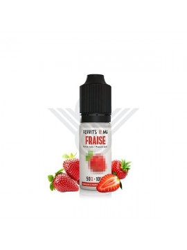 FRAISE NIC SALT 10ML 20MG - FRUUITS BY MI