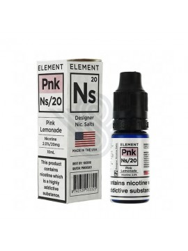 PINK LEMONADE NIC SALTS 10ml 20mg - Element