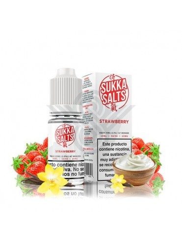 STRAWBERRY 10ML 10MG - SUKKA SALTS