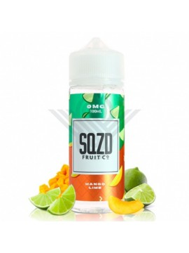 MANGO LIME 100ML 0MG - SQZD