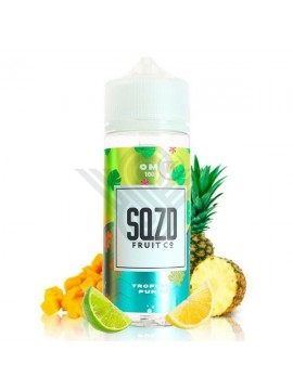 TROPICAL PUNCH 100ML 0MG - SQZD