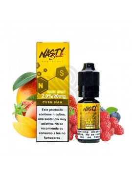 CUSHMAN SALT 10ML 20MG - NASTY JUICE