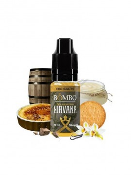 NIRVANA SALT GOLDEN ERA 10ML 20MG - BOMBO