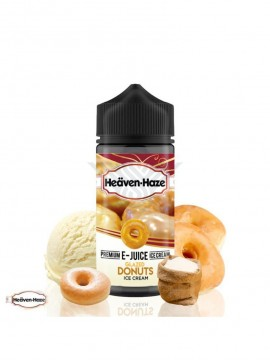 GLAZED DONUTS 100ml 0MG - HEAVEN HAZE