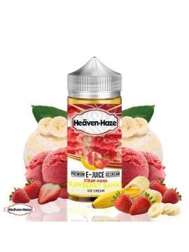 STRAW NANA 100ml 0MG - HEAVEN HAZE