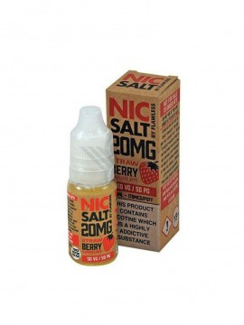 STRAWBERRY NIC SALT 10ML 10MG - FLAWLESS