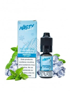 MENTHOL ICY MINT 10ML 10MG SALTS - NASTY JUICE